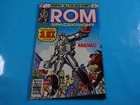 rom spaceknight #1 uk varient key  marvel  comics Comic book