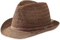 New Outdoor Research Women's Rhett Fedora Hat Small/Medium Walnut Brown