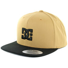 "DC Shoes ""Snappy"" Snapback Hat (Amber Gold) Men's Two Tone The Classics Cap"