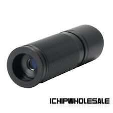 120X C Mount Zoom Lens with Ring Adapter For Industrial Microscope Camera