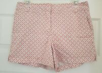 PRE OWNED NEW YORK & COMPANY WOMEN'S PATTERN  STRETCH SHORT PANTS SIZE 4
