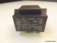 AEG 80850M Trafo Netzteil Spannungsversorgung Hahn 1115740-00 646130722 Sek 11V