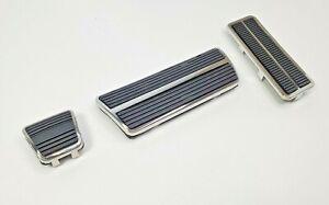 Pedal Kit w/ Trim Set Automatic Trans Brake Park Gas Pedals for 1969-81 Camaro