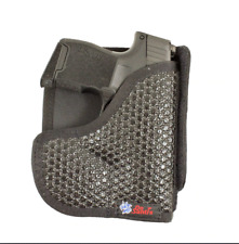 Super Fly Pocket Holster S&W M&P Shield W/ CT & Lasermax; Glock 26 27 W/ Laser