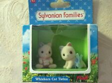 Sylvanian Families WHISKERS CAT TWINS FLAIR 4193 BNISB  RARE