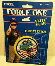 "ERTL Flite Gear Combat Patch NIB - F14 Tomcat ""Go Ahead... Make My Day"""