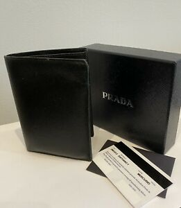 Prada Mans Leather Wallet
