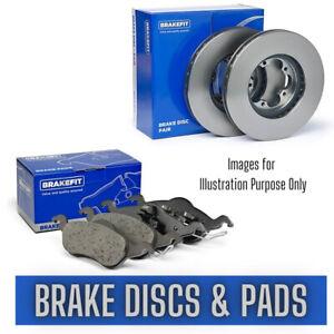 Rear Brake Discs and Pads Set FOR TOYOTA AURIS I 1.8 10->12 Hybrid Petrol BFit