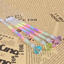 2xDiamond Gel Pen 6 Colors in 1 Pen Colorful Pen Novelty Pen Student Ink Pens Vm