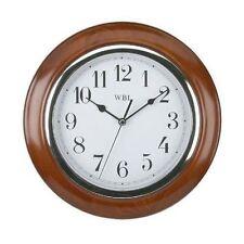 Wooden Quartz (Battery Powered) Modern Wall Clocks