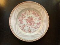 "Mint Royal Doulton Provence Rouge Salad Plate 8-3/4"" Red/pink Multiple Available"
