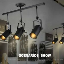 Contemporary Industrial Pendant light 3 Heads Spot Track Adjust Ceiling Lamp OZ