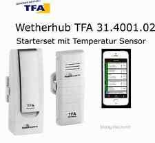TFA Wetherhub Starterset 1 mit Temperatur Sensor  31.4001.02 ,   App