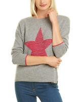 Kier + J Textured Star Cashmere Sweater Women's