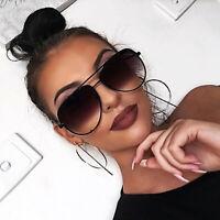 HOT KEY Aviator OVERSIZED Women Sunglasses Fashion Flat Top Square Shadz Glasses