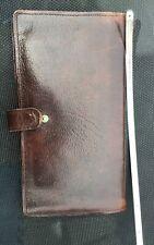 Woodland leather passport wallet