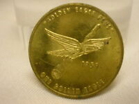 Vintage Token Coin 1959 Golden Eagle Plus General Electric Supply Co. Fall Lamp