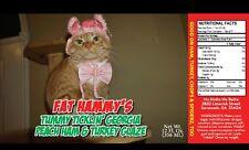 Fat Hammy's Tummy Ticklin' Georgia Peach Ham & Turkey Glaze 12 Ounce Bottle