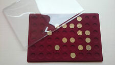 (C08) >>>>display coin tray with clear cover for one pound or one euro coins<
