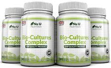 Probiotics 720 Capsules 10 Billion Forming CFU's yeast infections leaky gut Nu U