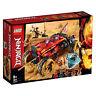 70675 LEGO Ninjago Katana 4x4 Vehicle Masters of Spinjitzu 450 Pieces 8 Years+