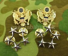 WW2 US ARMY FIVE-STAR RANK BADGE GENERAL OF THE ARMY INSIGNIA PINS-0416