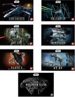 Bandai Star Wars Scale model Kits Choice of Kits to choose from