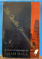 The Quiller Memorandum by Adam Hall 1965 Mystery Hardcover Book