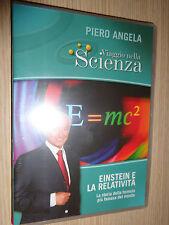 DVD N°3 VIAGGIO NELLA SCIENZA PIERO ANGELA EINSTEN E LA RELATIVITA'