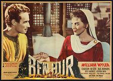 CINEMA-fotobusta BEN - HUR ch. heston, hawkins, WILLIAM WYLER