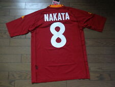 AS Roma #8 Nakata 100% Original Jersey Shirt XL 2000/01 Home Still BNWT