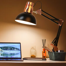 Metal Desk Lamps Adjustable Goose Neck Table Light Swing...