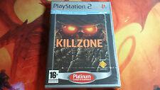 KILLZONE PLATINUM PLAYSTATION 2 PS2 NEW SEALED