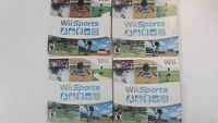 Wii Sports (Wii, 2006) - Complete with slipcover and instruction manual. Tested.