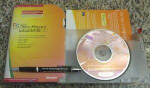 Office 2007 Version Espagnole Hogar y Estudiantes Word Excel PowerPoint OneNote