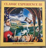 CLASSIC EXPERIENCE III DOUBLE VINYL LP RECORD ALBUM EMI 33 classical music track