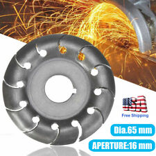 Woodworking Electric Angle Grinder Shaping Blade Wood Carving Disc Fast Cutting