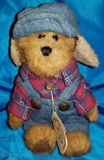 Vintage Boyd's Bears Classic Jointed Plush Stuffed Animal Edmund T Bear Fall Nwt