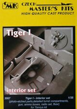 CMK 1/35 Tiger I Interior Set para TAMIYA Kit # 3067