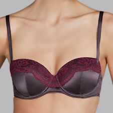 Andres Sarda Gstaad Padded Bra Balcony in Gstaad Toffee Size 36B