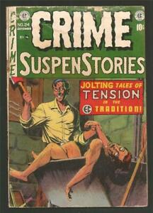 Crime Suspenstories #24, Sept. 1954