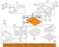 AUDI OEM 12-15 A6 Quattro Interior-Rear-Trunk Lining 4G5863463D36R