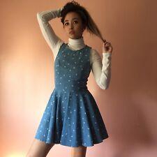 Dusen Dusen Denim Paisley Dress MSRP $210