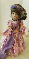 "14"" Porcelain Doll with Stand out of box but head still wrapped"