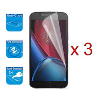 For Motorola Moto G5 Screen Protector Cover Guard LCD Film Foil x 3
