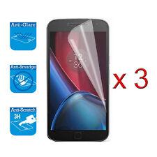 Para Motorola Moto G5 Protector De Pantalla Cubierta Protector Lámina film LCD X 3