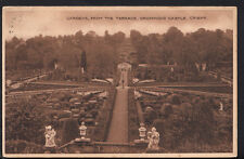 Scotland Postcard - Gardens, From The Terrace, Drummond Castle, Crieff  RS2973