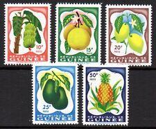 Guinea - 1959 Fruits Mi. 16-20 MNH