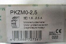 NEW MOELLER PKZM0-2,5 MOTOR PROTECTOR PKZM025