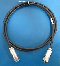 """EUPEN EC1-50-HF 6 ft. 1/4"""" Hi-Flex Foam Coax Cable w/ NM50B14X N Male Connector"""